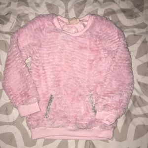 Girls pink Juicy Couture sweater
